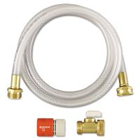 Diversey RTD Water Hook-Up Kit, Switch, On/Off, 3/8 dia x 5ft DVO3191746