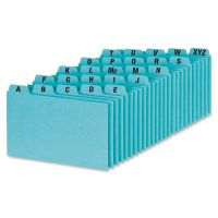 Oxford A-Z Tabs Index Card Guides OXFP3525