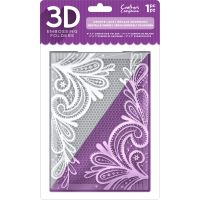 "Crafter's Companion 3D Embossing Folder 5""X7"" NOTM056525"