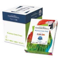 Hammermill Copy Paper, 100 Brightness, 28 lb, 8 1/2 x 11, Photo White, 2500 Sheets/Carton HAM102450