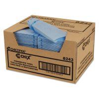 Chix Utility Towels, 21 x 13, Blue, 150/Carton CHI8243