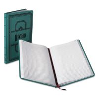Boorum & Pease Record/Account Book, Record Rule, Blue, 300 Pages, 12 1/8 x 7 5/8 BOR66300R