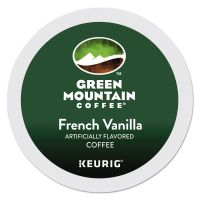 Green Mountain Coffee French Vanilla Coffee K-Cups, 24/Box GMT6732