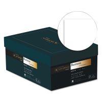 Southworth 25% Cotton #10 Business Envelope, 4 1/8 x 9 1/2, White, 24lb, Wove, 250/Box SOUJ40410