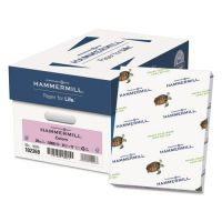 Hammermill Recycled Colored Paper, 20 lb, 8 1/2 x 11, Lilac, 500 Sheets/Ream HAM102269