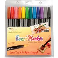 Marvy Brush Markers NOTM264081