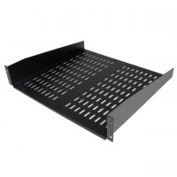 StarTech.com 2U 16in Universal Vented Rack Mount Cantilever Shelf - Fixed Server Rack Cabinet Shelf - 50lbs / 22kg SYNX3360868