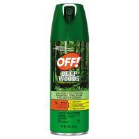 OFF! Deep Woods Insect Repellent, 6oz Aerosol, 12/Carton SJN611081