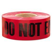 """Empire 1,000 ft. x 3 in. """"Danger Do Not Enter"""" Barricade Tape (Red) EML11081"""