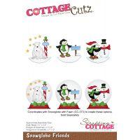 CottageCutz Snowglobe Friends Die NOTM204930