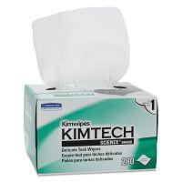 Kimtech* Kimwipes, Delicate Task Wipers, 1-Ply, 4 2/5 x 8 2/5, 280/Box,16800/Ct KCC34155CT