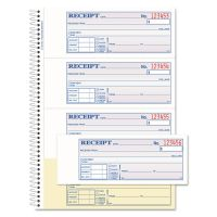 Adams Money/Rent 2-Part Receipt Book ABFSC1182