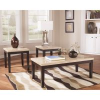 Flash Furniture Signature Design by Ashley Wilder 3 Piece Occasional Table Set FHFFSDTS353ESGG