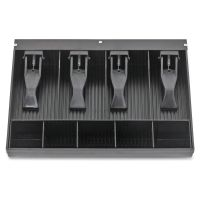 SteelMaster Cash Drawer Replacement Tray, Black, ABS Plastic, 12 1/2 x 13 x 2 3/4 MMF2252843T04