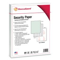 DocuGard Advanced Medical Security Paper, Green, 7 Features, 8 1/2 x 11, 500/Ream PRB04542