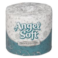 Angel Soft ps Premium Toilet Paper, 2-Ply, White, 4 x 4 1/20 Sheet, 450 Sheets/Roll, 80 Rolls/Carton GPC16880