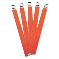 Advantus Crowd Management Wristbands, Sequentially Numbered, 10 x 3/4, Red, 500/Pack AVT75510