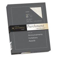Southworth Parchment Specialty Paper, Ivory, 24lb, 8 1/2 x 11, 100 Sheets SOUP984CK336
