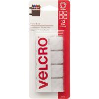 "VELCRO Brand STICKY BACK Squares 7/8"" 12/Pkg NOTM091652"