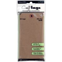 Inkssentials Brown Kraft Surfaces 20/Pkg NOTM126021