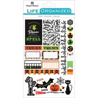 "Paper House Life Organized Planner Stickers 4.5""X7.5"" NOTM529173"