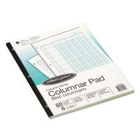 Wilson Jones Accounting Pad, Five Eight-Unit Columns, 8-1/2 x 11, 50-Sheet Pad WLJG7205A