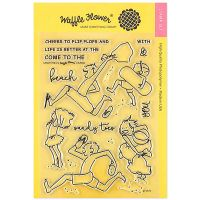 "Waffle Flower Crafts Clear Stamp 5""X7"" NOTM466553"