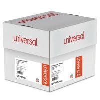 Universal Computer Paper, 3-Part Carbonless, 15lb, 9-1/2 x 11, White, 1100 Sheets UNV15704