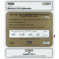 Post Bound Top-Loading Page Protectors 5/Pkg NOTM239994