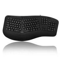 Adesso Tru-Form 150 - 3-Color Illuminated Ergonomic Keyboard SYNX3958012