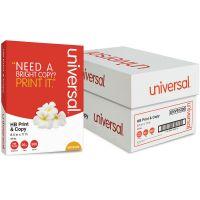 Universal Premium Copy Paper, 95 Brightness, 20 lb, White, 5000 Sheets/Carton UNV91200