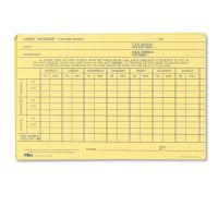 TOPS Employee Time Report Card, Weekly, 6 x 4, 100/Pack TOP3017