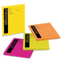 Post-it Neon Important Message Pads MMM76794