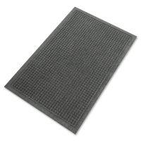 Guardian EcoGuard Indoor/Outdoor Wiper Mat, Rubber, 36 x 120, Charcoal MLLEG031004