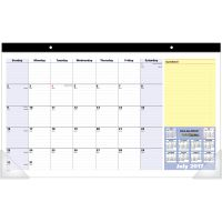 At-A-Glance QuickNotes Compact Academic Monthly Desk Pad Calendar AAGSK72600