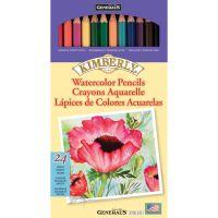 Kimberly Watercolor Pencils 24/Pkg NOTM134756