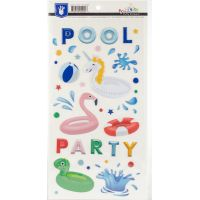 Poolside Puffy Stickers NOTM392139