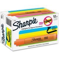 Sharpie Accent Tank Style Highlighter, Chisel Tip, Orange, Dozen SAN25006
