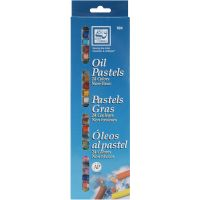 Oil Pastels 24/Pkg NOTM136334