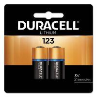 Duracell Ultra High-Power Lithium Battery, 123, 3V, 2/Pack DURDL123AB2BPK