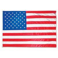 Advantus All-Weather Outdoor U.S. Flag, Heavyweight Nylon, 4 ft x 6 ft AVTMBE002220