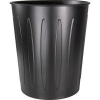 Genuine Joe Steel 6 Gallon Fire-safe Trash Can GJO58897