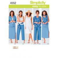 Simplicity Misses'/Women's Skirt, Croppe NOTM496042