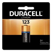Duracell Ultra High-Power Lithium Battery, 123, 3V, 1/EA DURDL123ABPK