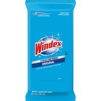 Windex&reg Original Glass/Surface Wipes SJN642513CT