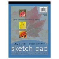 Pacon Art1st Sketch Pad, 60 lbs. Heavyweight Drawing Paper. 9 x 12, 50 Sheets PAC4746