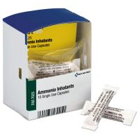 First Aid Only Refill for SmartCompliance General Business Cabinet, Ammonia Inhalants, 10/Box FAOFAE7025