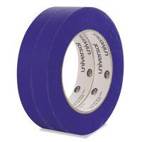 Universal Premium Blue Masking Tape, 18mm x 54.8m, Blue, 2/Pack UNVPT14019