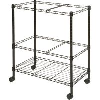 Lorell Mobile Wire File Cart LLR45650