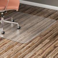 Lorell Nonstudded Design Hard Floor Chair Mat LLR82825